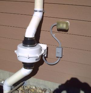 Radon System Fan in Colorado Springs